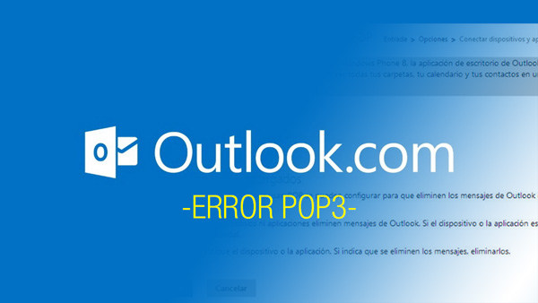 Error de acceso a Outlook por POP3