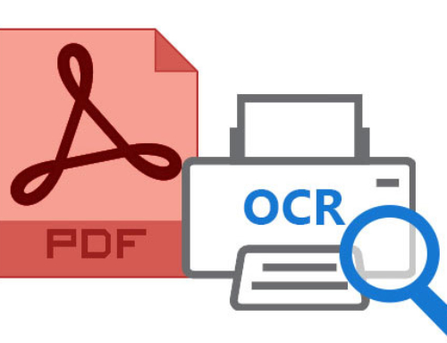 PDF – OCR