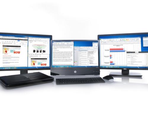 Como pueden los monitores múltiples aumentar tu productividad